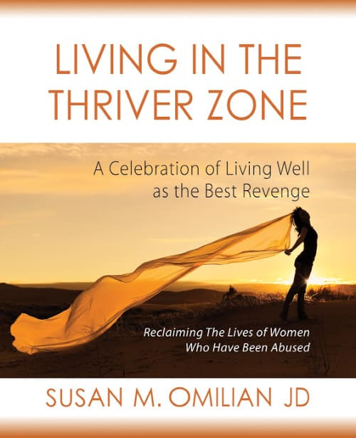 COVER Living in the Thriver Zone by Susan Omilian