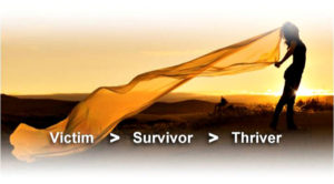 From Victim to Survivor to Thriver