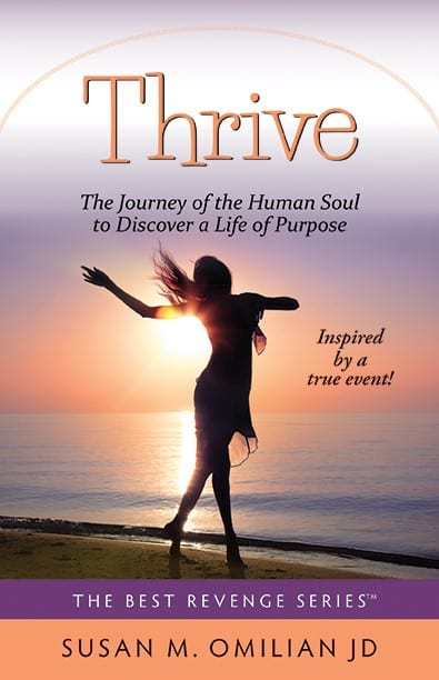 Thrive Novel Book Cover
