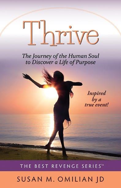 Thrive Novel Book Cover